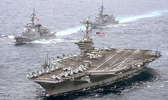 「日米海軍共同訓練」の画像検索結果