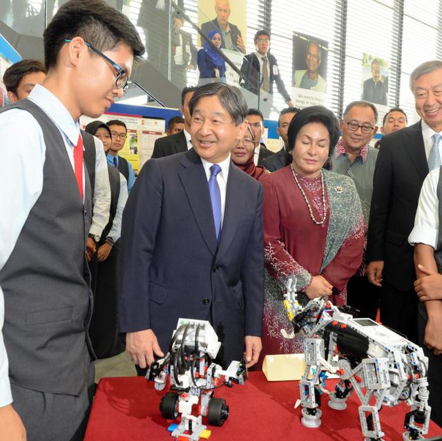 (皇族方の素顔)爆笑誘った皇太子さま マレーシア訪問