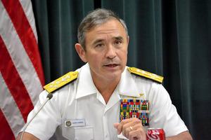 米軍司令官「軍事的選択肢、どれ...