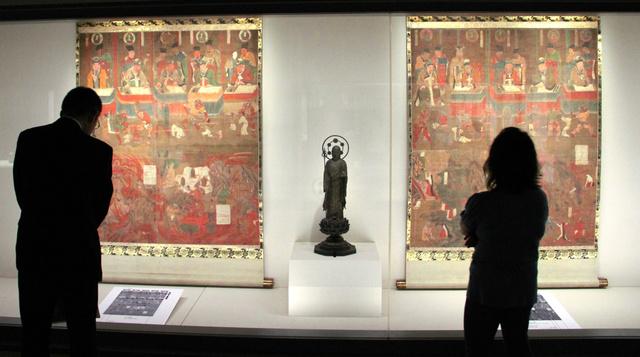 仏教美術の入門、祈りのかたち展開幕 東京・出光美術館:朝日新聞デジタル