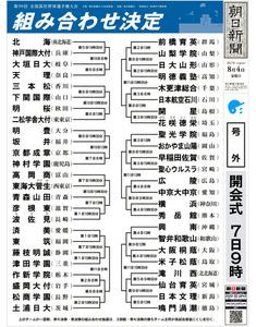 岐阜青春フルスイング|  第101回全国高校野球 …