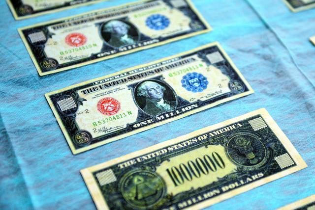 人 1 宇宙 ドル 札