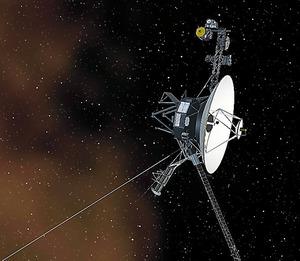 (ネット点描)太陽系を出たツイート 友好、せめて宇宙には
