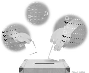 (2017衆院選)一票の手がかり 安田菜津紀さん、松田和也さん、安永彩華さん