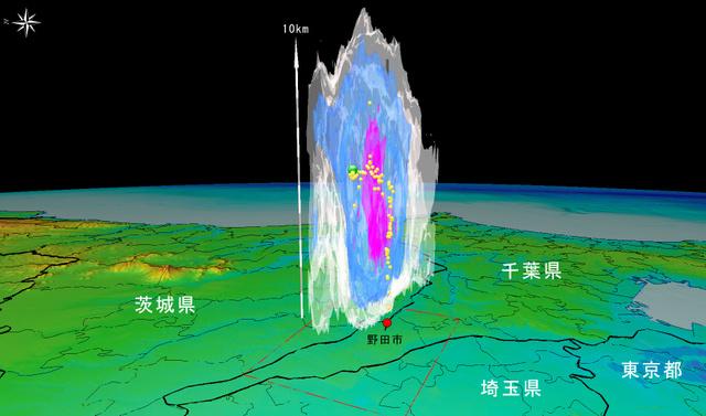 レーダー 千葉 雨雲