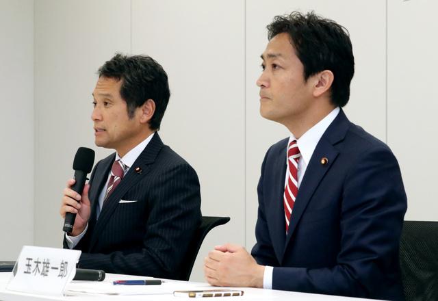 希望の党共同代表選が告示 玉木氏・大串氏が届け出:朝日新聞デジタル