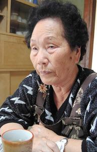 在日朝鮮人の元慰安婦、宋神道さ...
