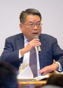 福島)作家・中村彰彦氏が会津若...