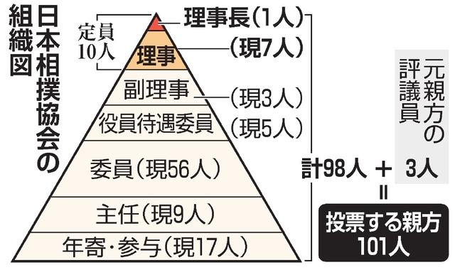 貴乃花親方は当選するのか 相撲理事候補選、票読み解説:朝日新聞デジタル