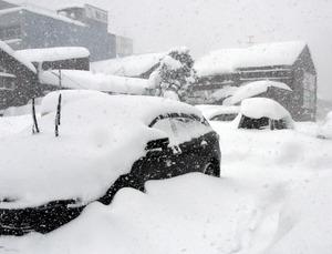 北陸、8日ごろまで大雪に注意 上空に強い寒気:朝日新聞デジタル
