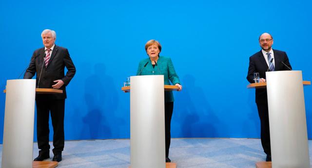 ドイツ2大政党、連立で合意 3月にも新政権:朝日新聞デジタル