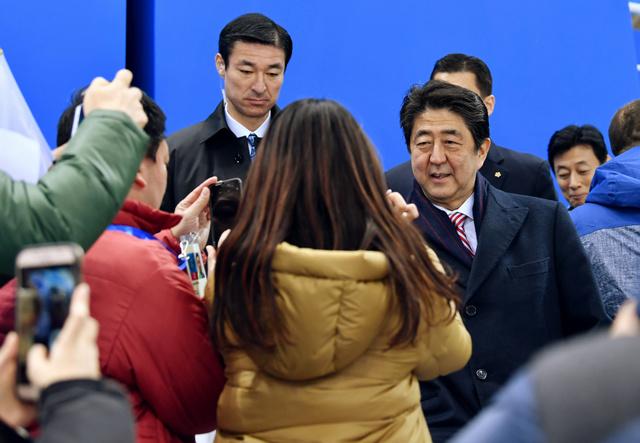 首相、平昌で日本選手団を激励 ...