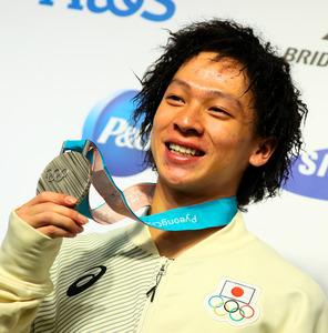 銀メダル平野歩夢