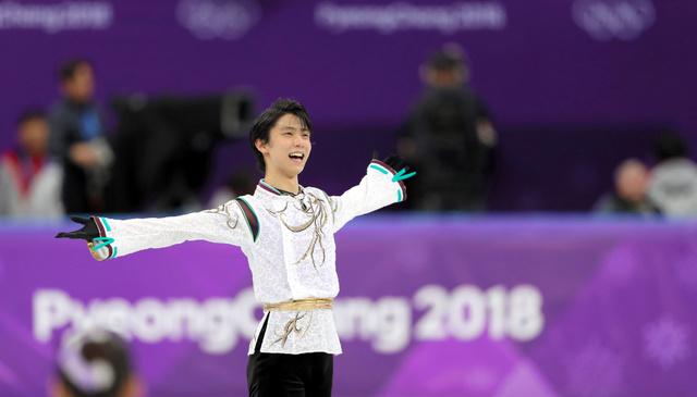 「平昌オリンピック 羽生結弦選手」の画像検索結果