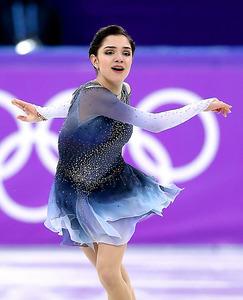 世界最高峰覚悟の舞 フィギュアスケート女子sp 平昌五輪