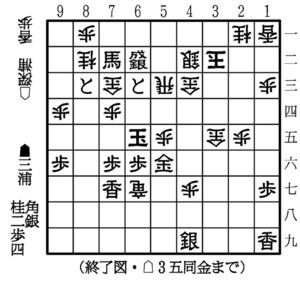 妙手で決着 第76期将棋名人戦A級...