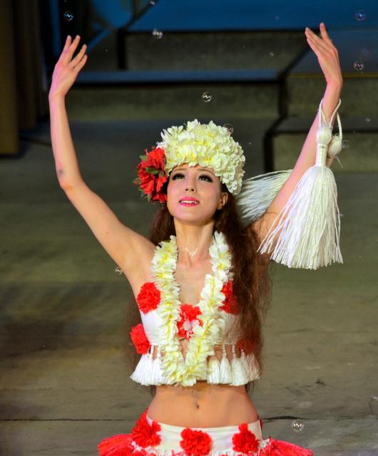 美しすぎるフラ」 ハワイアンズ...