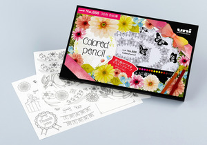 大人の塗り絵が楽しめる色鉛筆 マステに使えるシートも朝日新聞デジタル