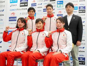 競泳パンパシ日本代表に22人 萩...