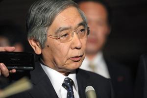 黒田・日銀総裁を異例の再任 異...