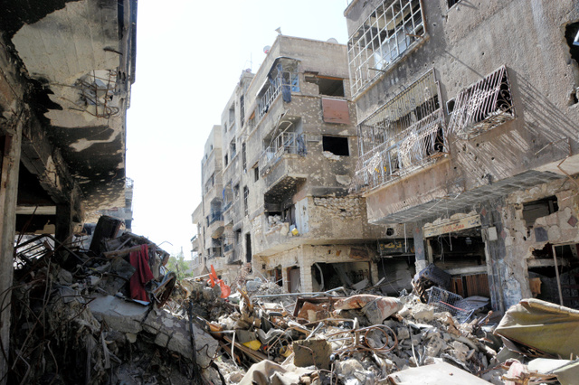 今世紀最悪の人道危機」シリア内...