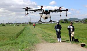 「ドローン 農薬散布」の画像検索結果