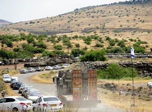 緊迫するゴラン高原 イスラエル...