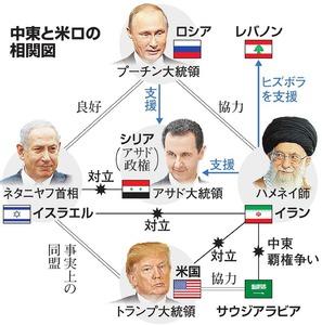 イラン、イスラエル対立激化 トランプ氏が緊張高める