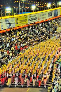 阿波踊りフィナーレ「総踊り」、徳島市が今夏中止の方針:朝日新聞デジタル