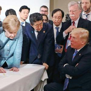 「安倍  G7」の画像検索結果