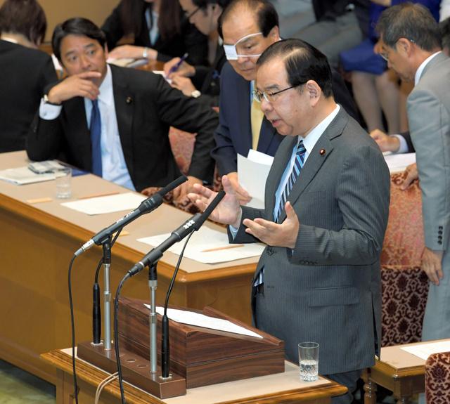 【党首討論】岡田氏「総理、良心の呵責感じませんか」