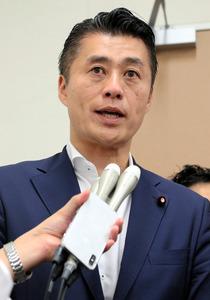細野豪志氏「選挙資金ではなかっ...