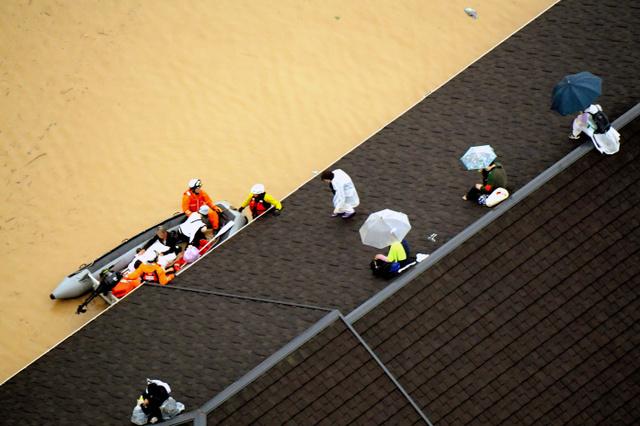 """【西日本豪雨】2階に上がる""""垂直避難""""さえも困難だった 倉敷市真備町の死者 8割が自宅で水死★3 YouTube動画>1本 ->画像>31枚"""