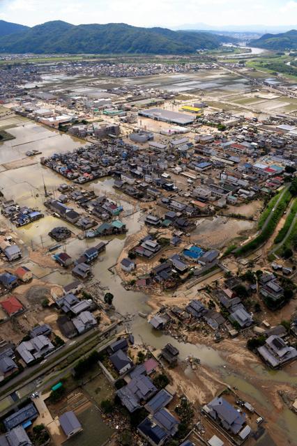 西日本の豪雨「平成30年7月豪雨」と命名 気象庁:朝日新聞デジタル
