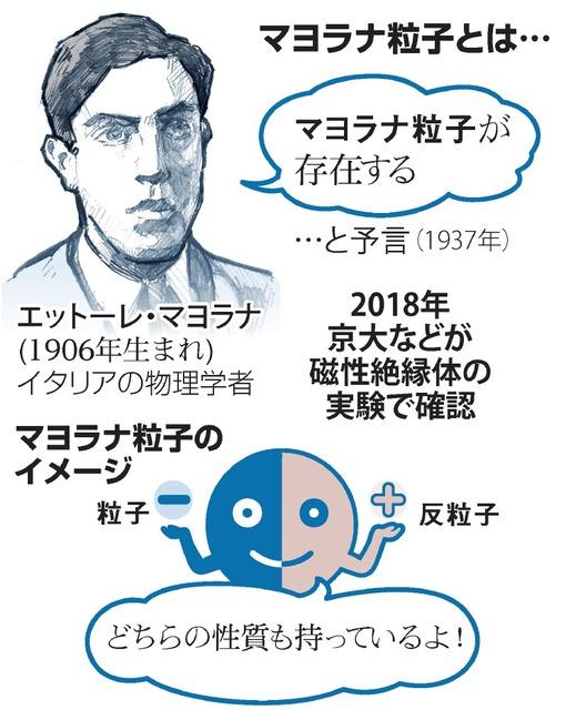 幻の「マヨラナ粒子」存在確認 京大・東大チーム 量子コンピューター新開発へ期待