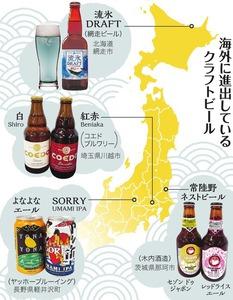 クラフトビール、海外酔いしれる...