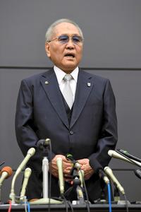 ボクシング山根明会長が辞任表明...