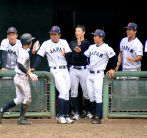 野球の高校日本代表、明大と4―4 ...