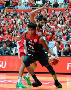 日本7連勝、W杯へ前進 バスケットボール・男子ア …