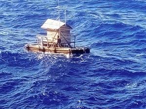 いかだ漂流49日、18歳を救助 インドネシア→グアム