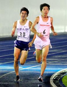 マラソン日本記録保持者、設楽悠...