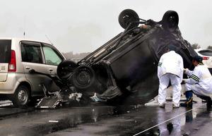 4人死亡事故、飲酒運転130キロで...