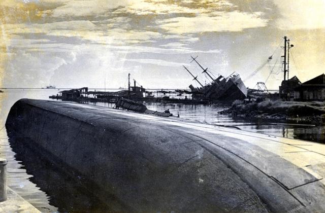 撃沈された日本船団、「秘」と記...