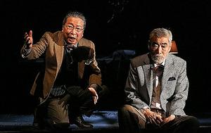 石倉三郎(左)、柄本明=宮川舞子氏撮影