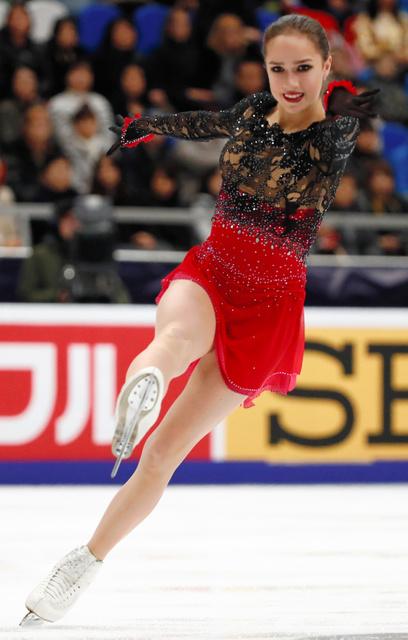【フィギュアスケート】ザギトワ、白岩優奈、山下真瑚、松田悠良らが出場 GPSロシア杯・女子フリーの結果