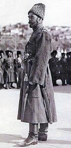 ニコライ2世=1915年、ロシアの展覧会アルバム「世紀の長い調査」から