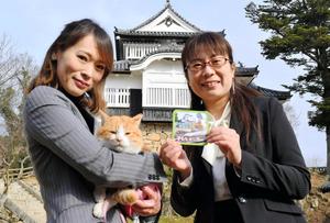 岡山)猫城主さんじゅーろー、再入城 備中松山城