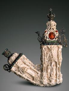 「装飾メアシャムパイプ」=JTIオーストリアコレクション蔵 (C)Sandro E.E.Zanzinger