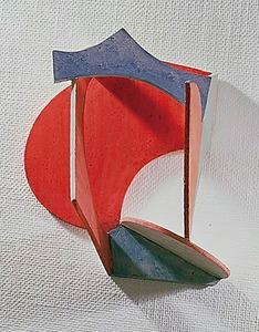岡崎乾二郎「あかさかみつけ」(1981年、高松市美術館蔵)