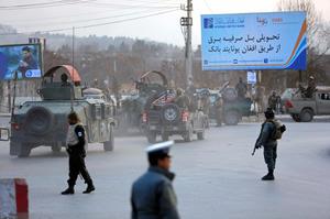 アフガニスタンの政府庁舎で襲撃...